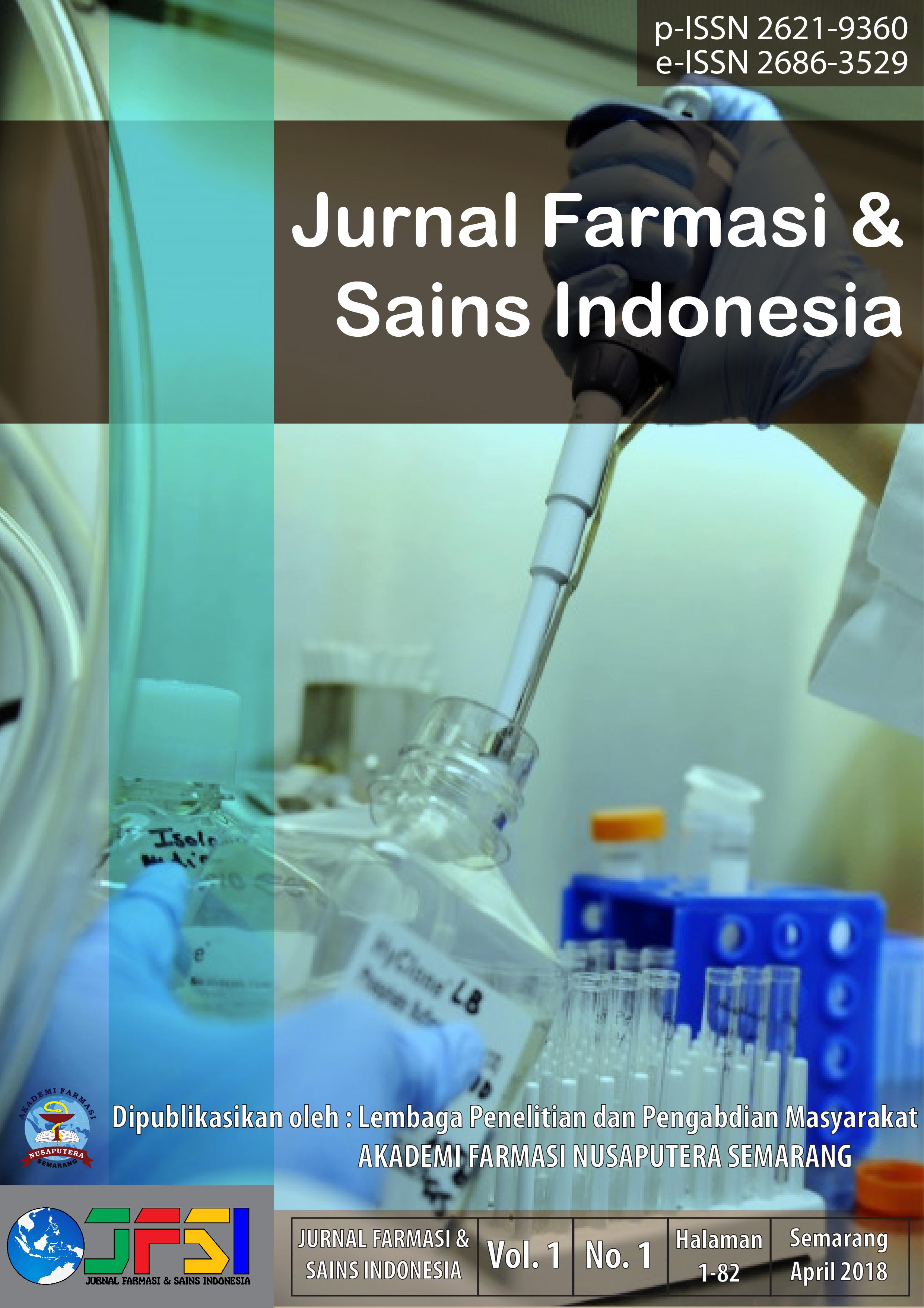 JFSI Vol. 1 No. 1